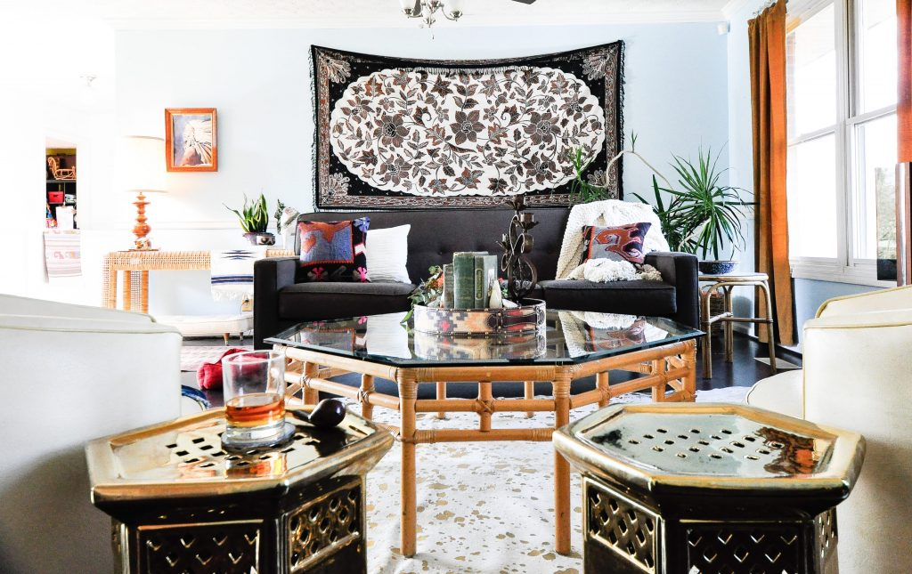 Interior design Nashville, tn, eclectic style