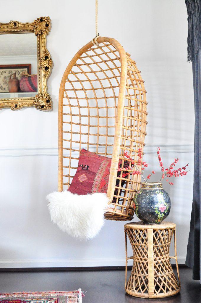 rattan swing chair design Nashville