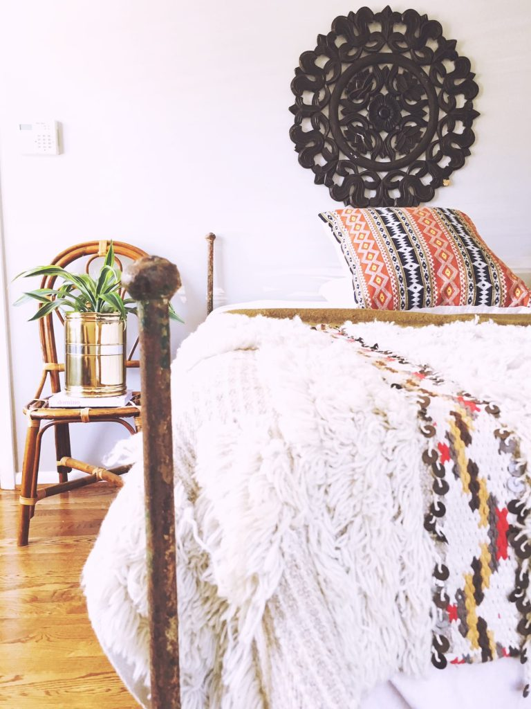 Woodbine, Nashville home staging bedroom