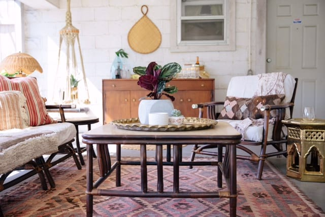 Bohemian Sunroom Nashville