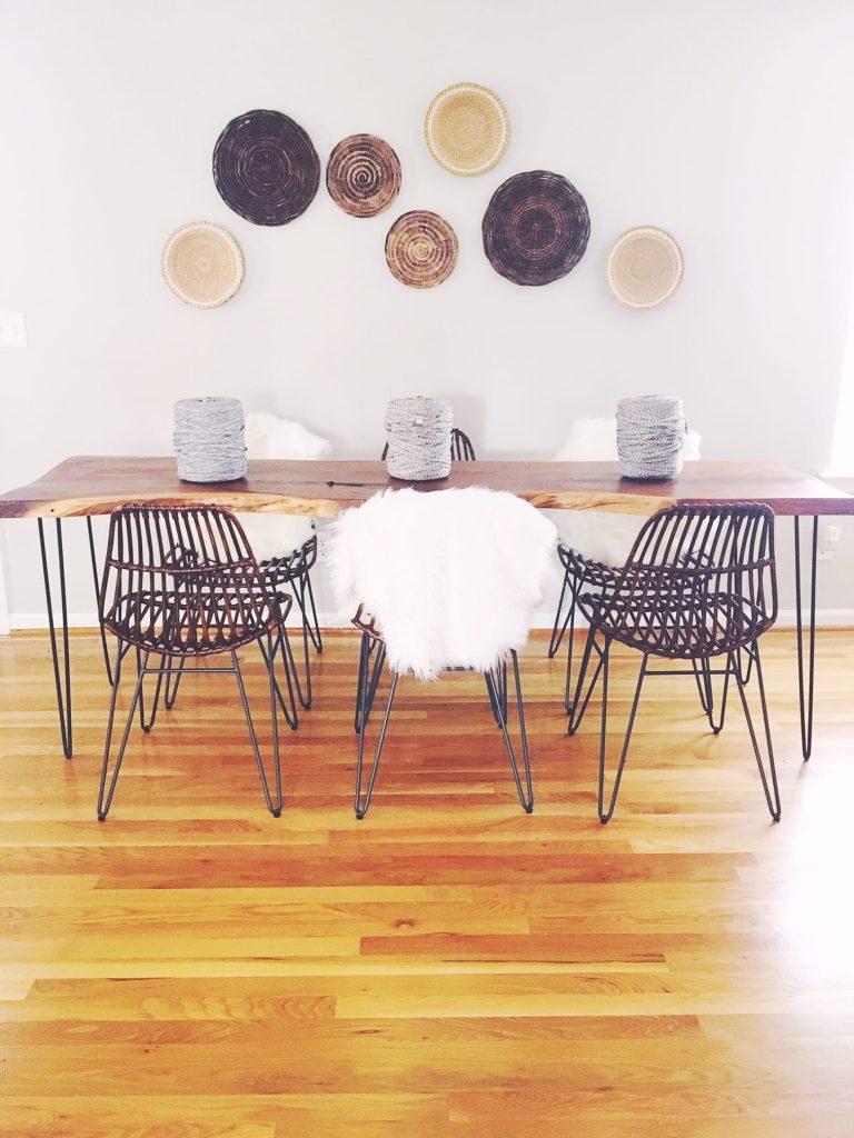 dining room east Nashville decor home staging