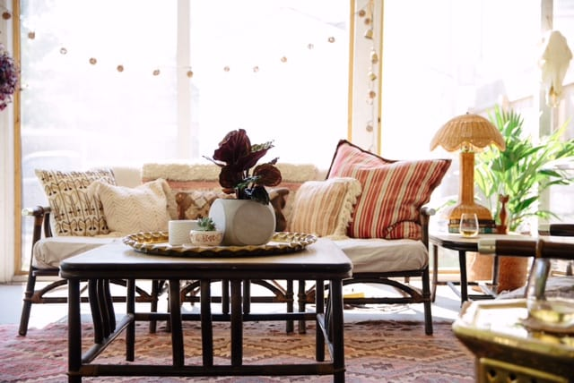 eclectic sunroom home design