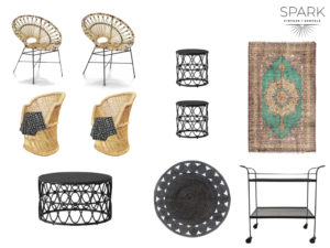 wicker and rattan lounge furniture