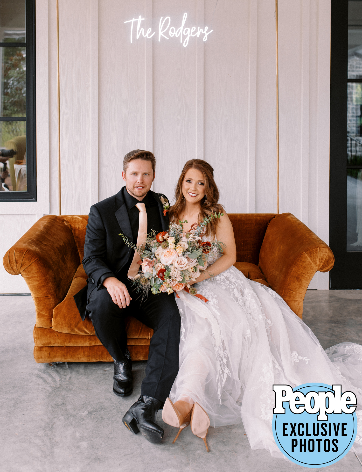 Our Autumn Sofa Made Her PEOPLE Magazine Debut